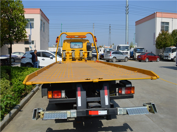 ISUZU 5 Ton Flatbed Wrecker Truck