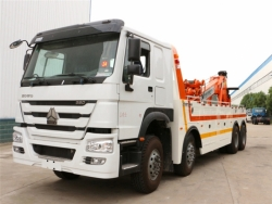 Howo 6x4 300 hp 16 ton road under lift wrecker truck