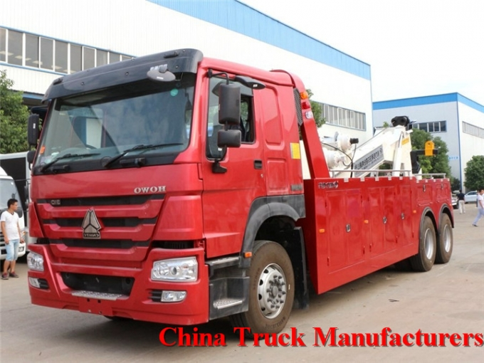 howo 6x4 right hand drive towing wrecker
