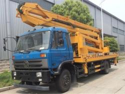 22M telescopic aerial platform truck