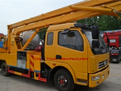 16m Dongfeng 4*2 High attitude operation truck