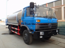 dongfeng 12000 liters asphalt distributor truck