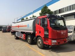 FAW 6*2 capacity 20000L Crude transport tank truck