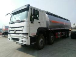 HOWO 336HP  30000L oil tank truck