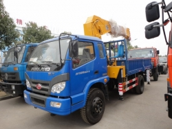 Fukuda 5 ton truck mounted crane