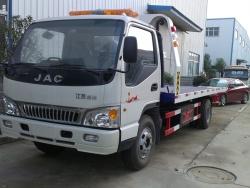 JAC Flatbed Wrecker Truck