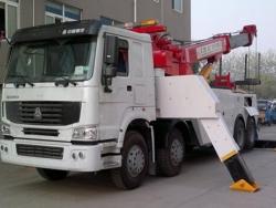 360 degree rotation 40 ton heavy tow trucks