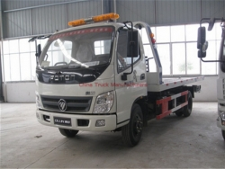 FOTON 4X2 Flatbed Wrecker Tow Truck