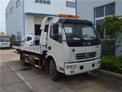 DFAC 120HP -140HP Flatbed Wrecker Truck