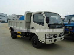 Dongfeng side lift dump truck