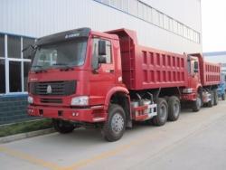sinotruck 10 wheel mining dump truck tipper truck