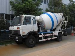 5 m3 Small concrete mixer truck
