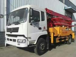 Mini Concrete Boom Pump Truck