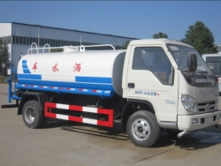 Foton 4x2 Stainless Steel Drinking Water Truck