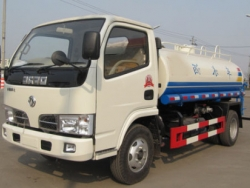 DFAC 5000L water bowser water tank truck