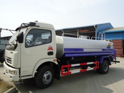 Dongfeng 6-7cbm water vehicle street cleaning truck
