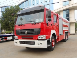 12000 liters 6*4 SINO water fire truck