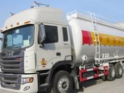 JAC 6x4 bulk cement tanker vehicle