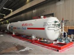 4000 Litres 40 cbm 20 MT lpg bottling plants