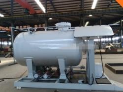 10000liter lpg skid station gas cylinder