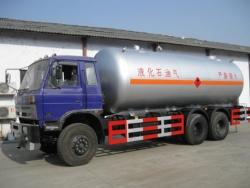 dongfeng 25cbm truck mounted gaz tank