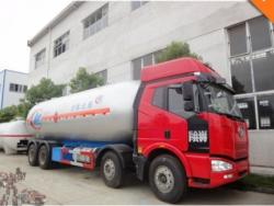 35cbm faw 8x4 lpg truck