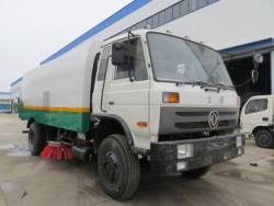 Dongfeng 12m3 garbage cleaning road sweeper truck
