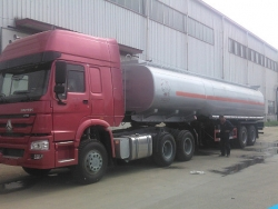Heavy Duty 2/3 axles 40000 Liters Fuel Tank Semi Trailer