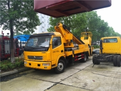 Dongfeng Articulated boom aerial lift truck 18m