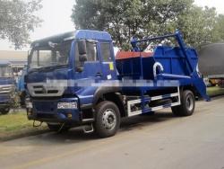 Sinotruk skip loader waste truck