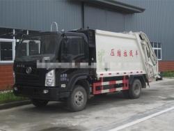 Shacman 4x2 small trash truck