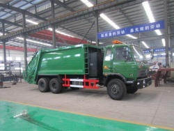 15m3 Dongfeng 6×6 garbage compactor truck