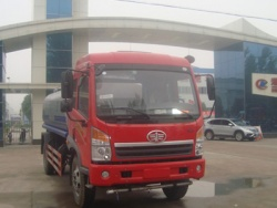 FAW 8m3 water delivery truck