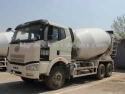 10cbm Faw cement mixer vehicle