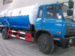 6 cbm dongfeng 4*2 fecal vacuum suction truck