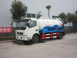 dongfeng 4*2 fecal suction truck