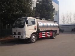 dongfeng milk cooling tanks,5000liters milk tank truck