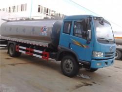 FAW Stainless Steel Bulk Milk Tank Truck