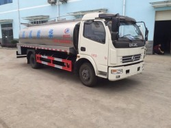 Dongfeng 6000-8000liter milk tanker