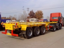 20 ft 40 ft container skeleton semi trailer,truck trailer