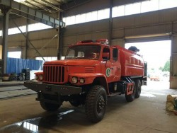 6X6 forest fire fighting truck