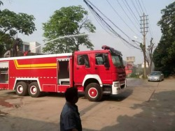 Sinotruck forest fire fighting truck