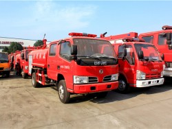 Small 5000L High Pressure Fire Fighting Watering Truck