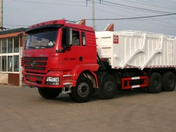 8x4 12 Wheels Sand Tipper Cargo Truck