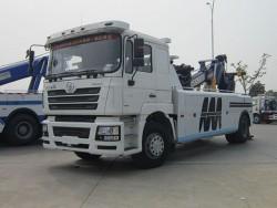 2 axles Shaanxi Auto heavy wrecker