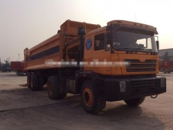 china 8x6 articulated dump truck with 16 wheels