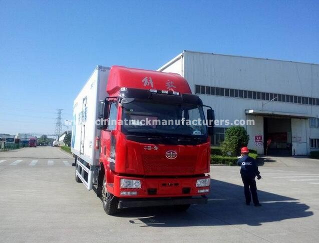 FAW 6*4 refrigerated truck
