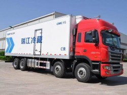 JAC 8*4 refrigerated truck