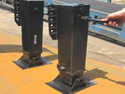 retractable landing gear for trailer/semi trailer