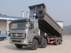 ongfeng Kinland Truck 8x4 Off Road Mining Dumpers